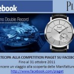 Piaget – Novità su Facebook