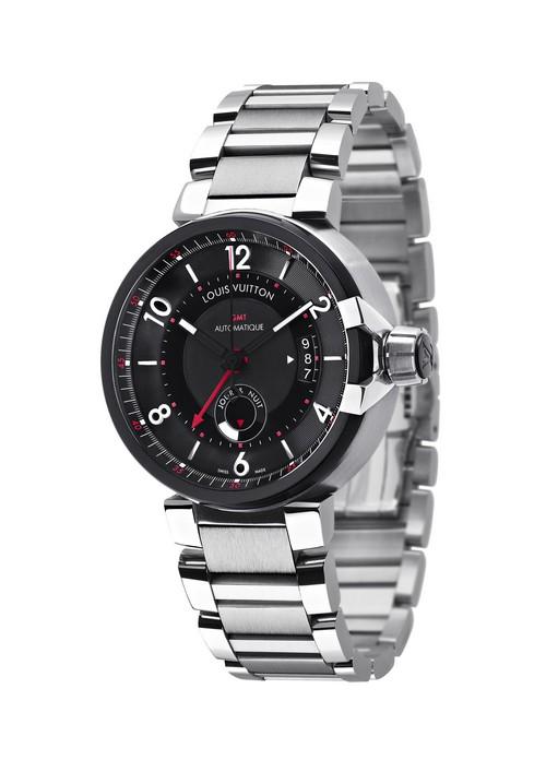 Louis vuitton orologi tambour evolution gmt l 39 orologio - Porta orologi louis vuitton ...