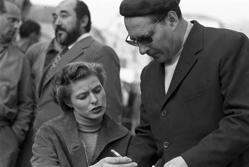 Ingrid Bergman & Roberto Rossellini - Viaggio in Italia - 1953