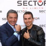 Jorge Lorenzo a Milano per presentare la nuova campagna Sector No Limits