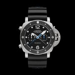Panerai Luminor Submersible 1950 3 Days Chrono Flyback Automatic Titanio e Carbotech 3 Days Automatic