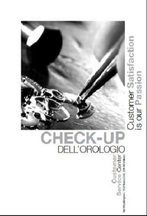 check up orologio sede-hp