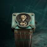 Bell & Ross – BR 01 Skull Bronze Tourbillon per Only Watch