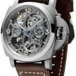 Panerai – Lo Scienziato Luminor 1950 Tourbillon GMT Titanio 47mm