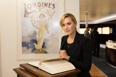 Longines accoglie  a Saint-Imier la sua Ambasciatrice Kate Winslet