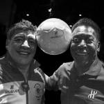 Hublot fa incontrare Pelè e Maradona