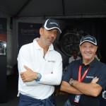 Mario Peserico e Miki Biasion