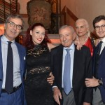 Evento LVO - Rolex -Valeria Verga con Valerio e Anna Verga il fratello Umberto e nipote Federico_PAS2963