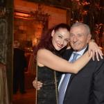 evento LVO _ ROlex - Valeria con il padre Valerio Verga