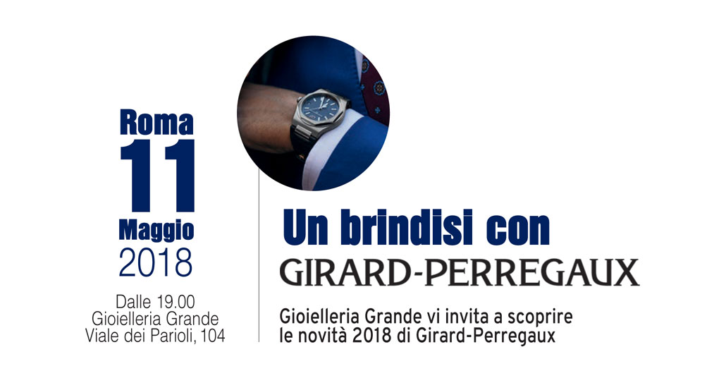 Un brindisi con Girard-Perregaux