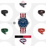 Omega lancia la vendita online dei suoi cinturini Nato