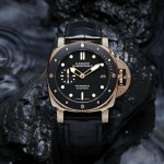 Officine Panerai Luminor Submersible 1950 3 Days Automatic Oro Rosso – 42 mm
