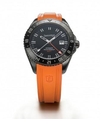 Scafograf GMT The Black Sheep - Orange - Eberhard & Co.
