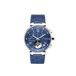 Louis Vutton Tambour Moon Star Chronograph Blue