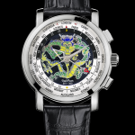 "Paul Picot Megarotor GMT Champlevé ""The Dragon"""