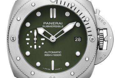 Panerai Submersible Verde Militare – 42 mm