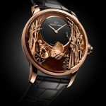 Jaquet Droz – Loving Butterfly Automation Chinchilla Red