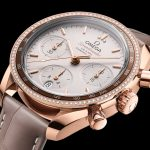 Omega Speedmaster 38mm in oro Sedna