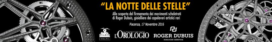 Roger Dubuis - La notte delle stelle