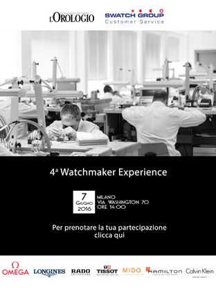 Watchmaker Experience