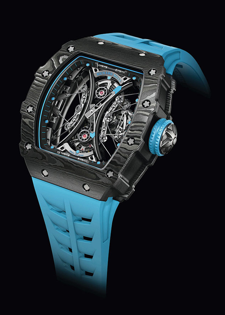Richard Mille RM 53-01 Tourbillon Pablo Mac Donough f9a06e7742b5